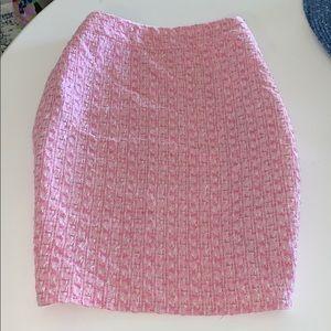 Escada tweed pencil skirt